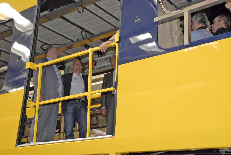 Ssb Ag besuch im hauptwerk der ssb ag in möhringen winfried hermann 2011