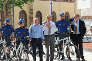 Elektrofahrräder ergänzen den Fahrzeugpark der Polizei in Stuttgart